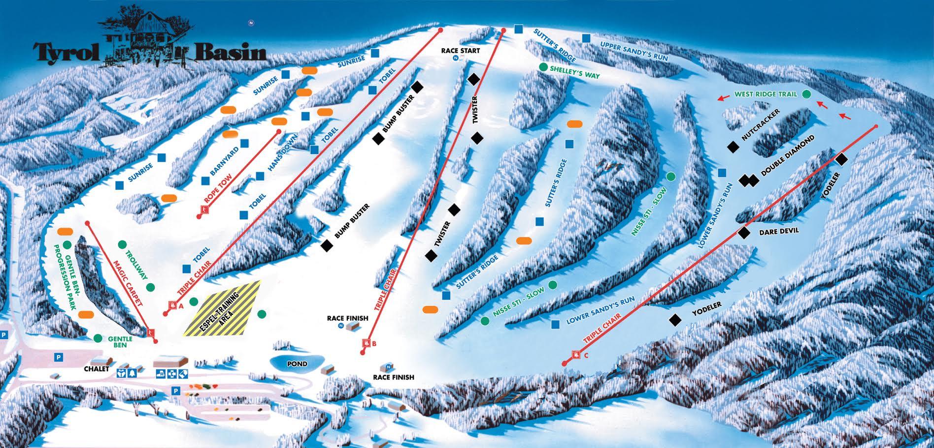tyrol basin trail map