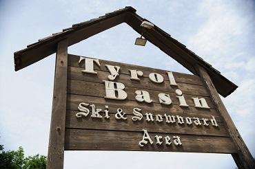 Tyrol Basin Bohn Road Sign